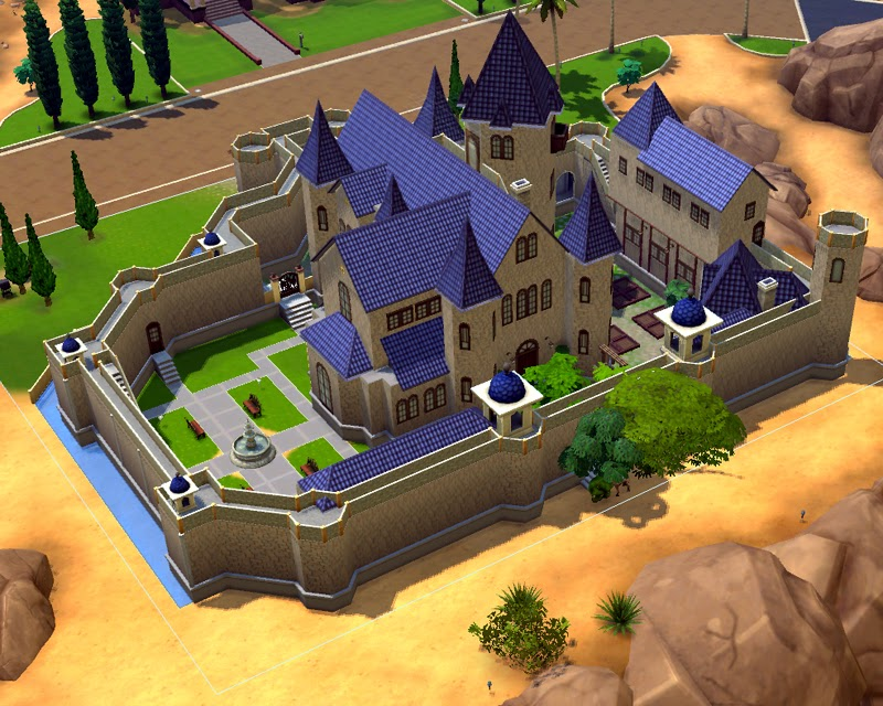 My Sims 4 Blog The Small Kingdom Castle No CC By Artrui