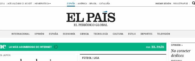 Los periódicos más importantes de España