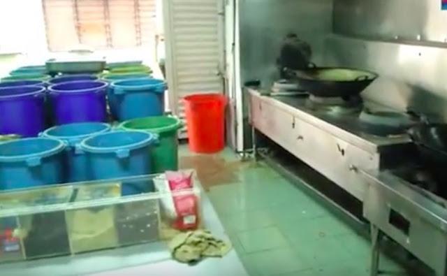 Restoran Mamak Cuci Kuali Guna Penyapu Ditutup