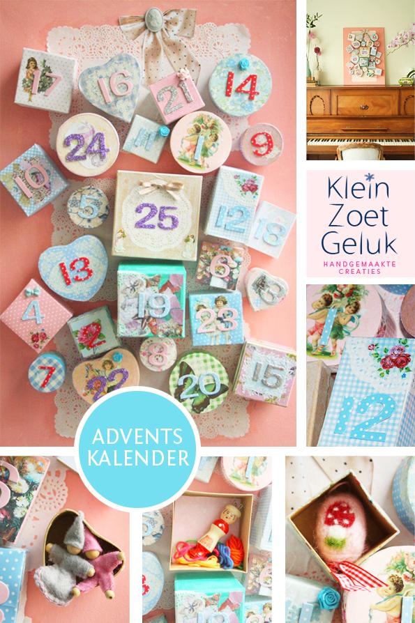 Adventkalender door klein zoet geluk