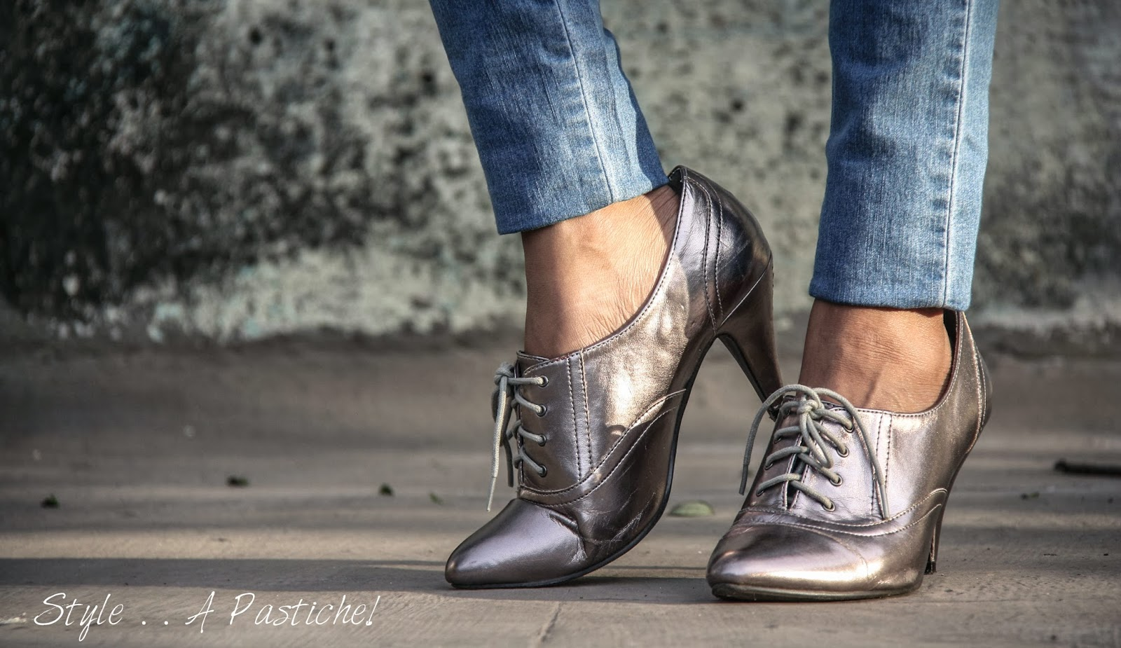 Metallic, Oxford Boots, Christmas shoes, Fall 2013 Trends, Must have for this Winter, Winter Boots,