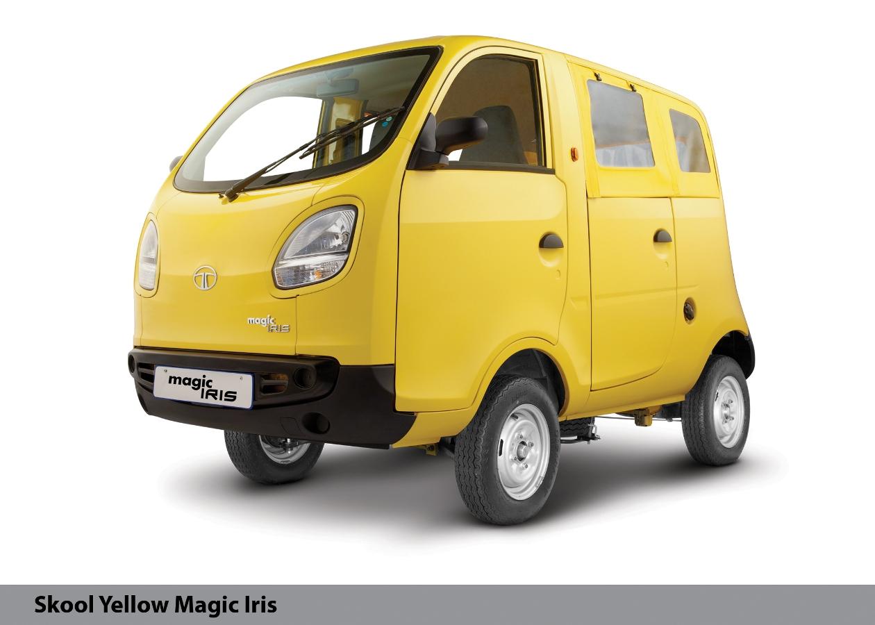 Autoexpo Tata Magic Iris