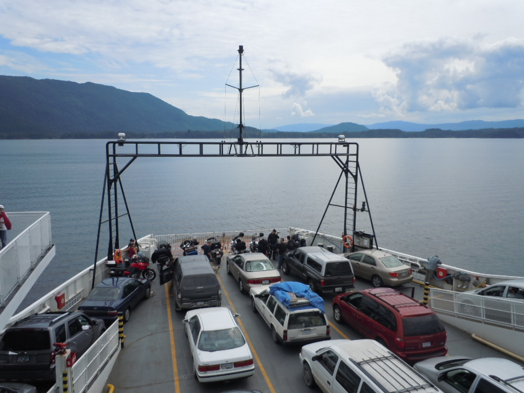 Rv Ferry Powell River Vancouver Island