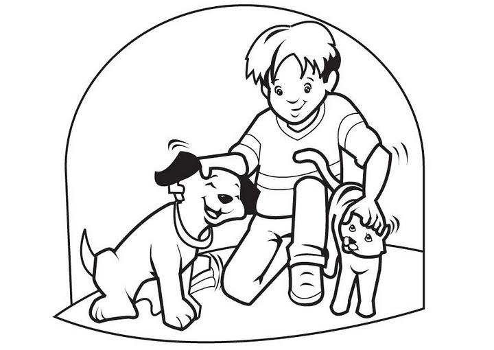 Aprende a pintar con estos perritos