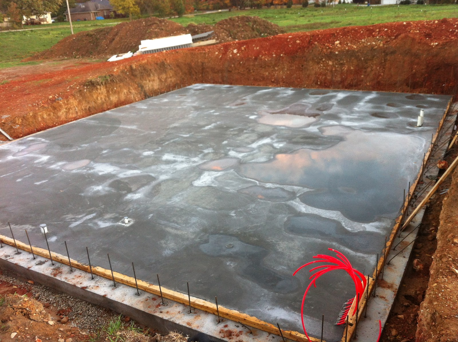 Insulated concrete forms tf systems house floor done for Icf concrete floors