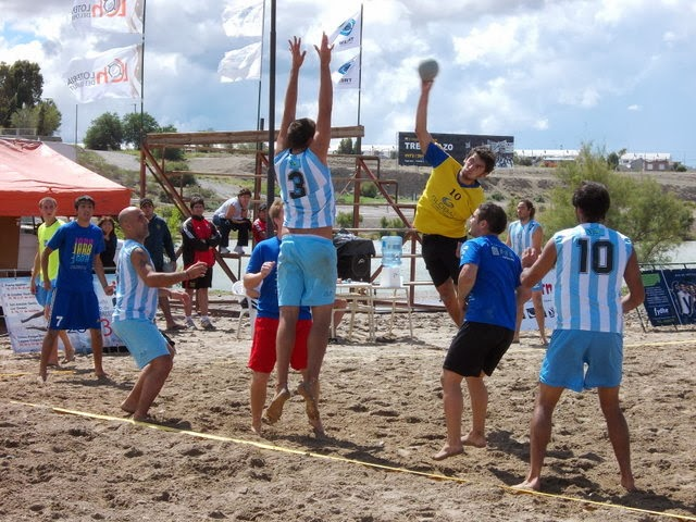 Circuito Patagnico de Beach Handball: Con seleccin Argentina | Mundo Handball