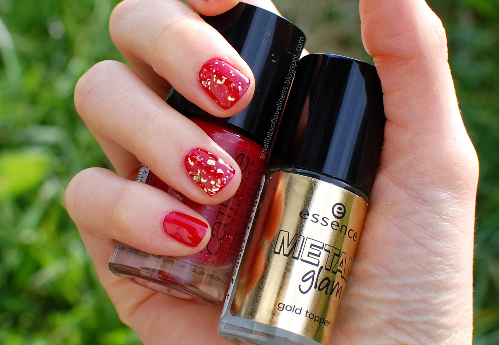 Essence Gold Topper Steel-ing the Scene, Catrice Bloody Mary To Go
