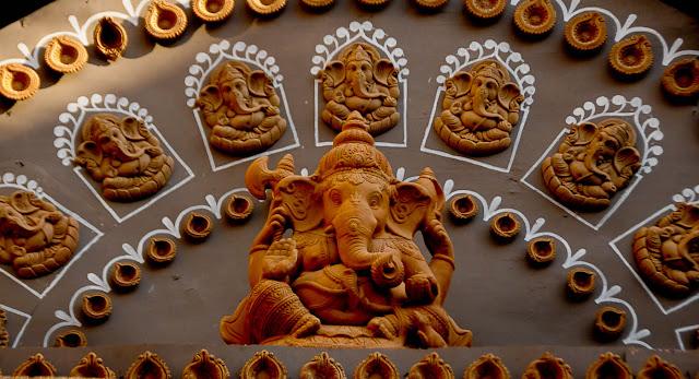 Durga Puja 2012 : Bangur Avenue