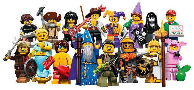 lego minifigures - series 12