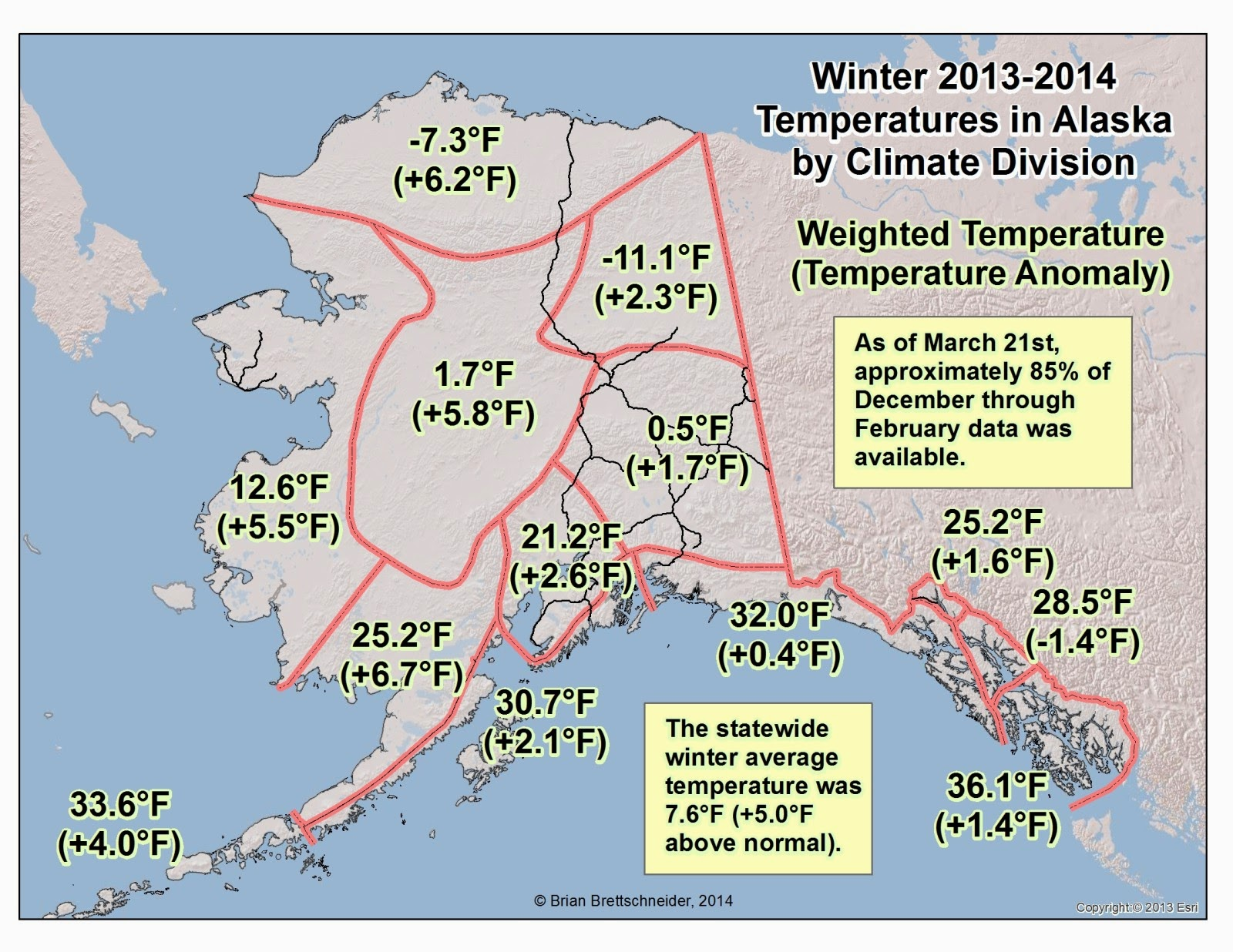 Deep Cold Interior And Northern Alaska Weather Climate Winter - Alaska weather averages