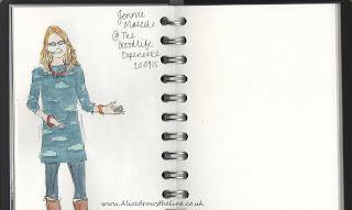 www.AliceDrawsTheLine.co.uk :: TheGoodlifeExperience Jennie Maizels