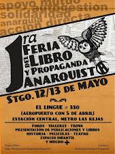 Primera Feria del Libro y Propaganda Anarquista en Santiago [Chile]