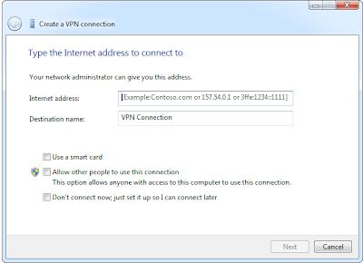 konfigurasi VPN