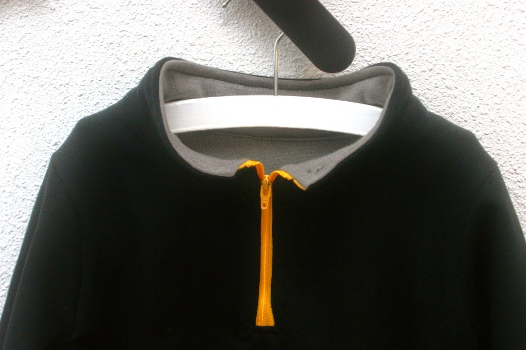 half zipper