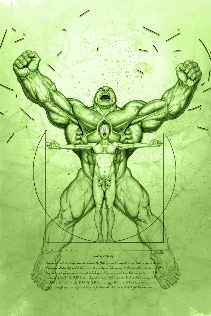 Anatomy of The Hulk por No-Sign-of-Sanity