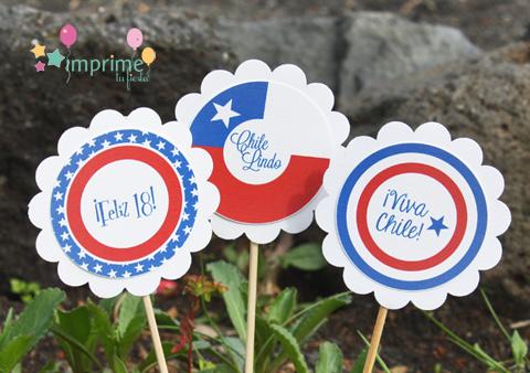 Imprime tu Fiesta: ¡¡Celebremos las Fiestas Patrias de Chile!!