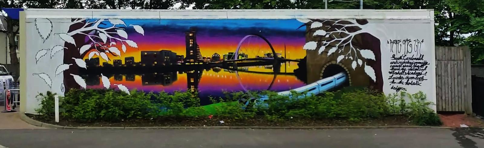 Cardonald Mural, Glasgow