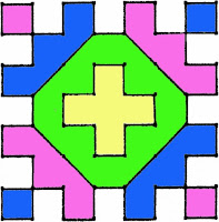 Rangoli Design Pattern 4