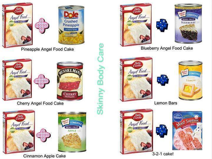 Angel Food Cake Recipes Easy Crushed Pineapple