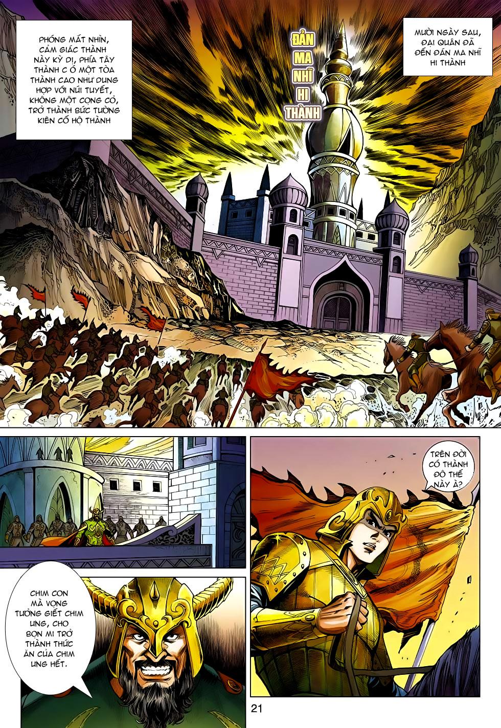 xem truyen moi - Anh Hùng Xạ Điêu - Chapter 94: Thâu hội Thốc Mộc Phong