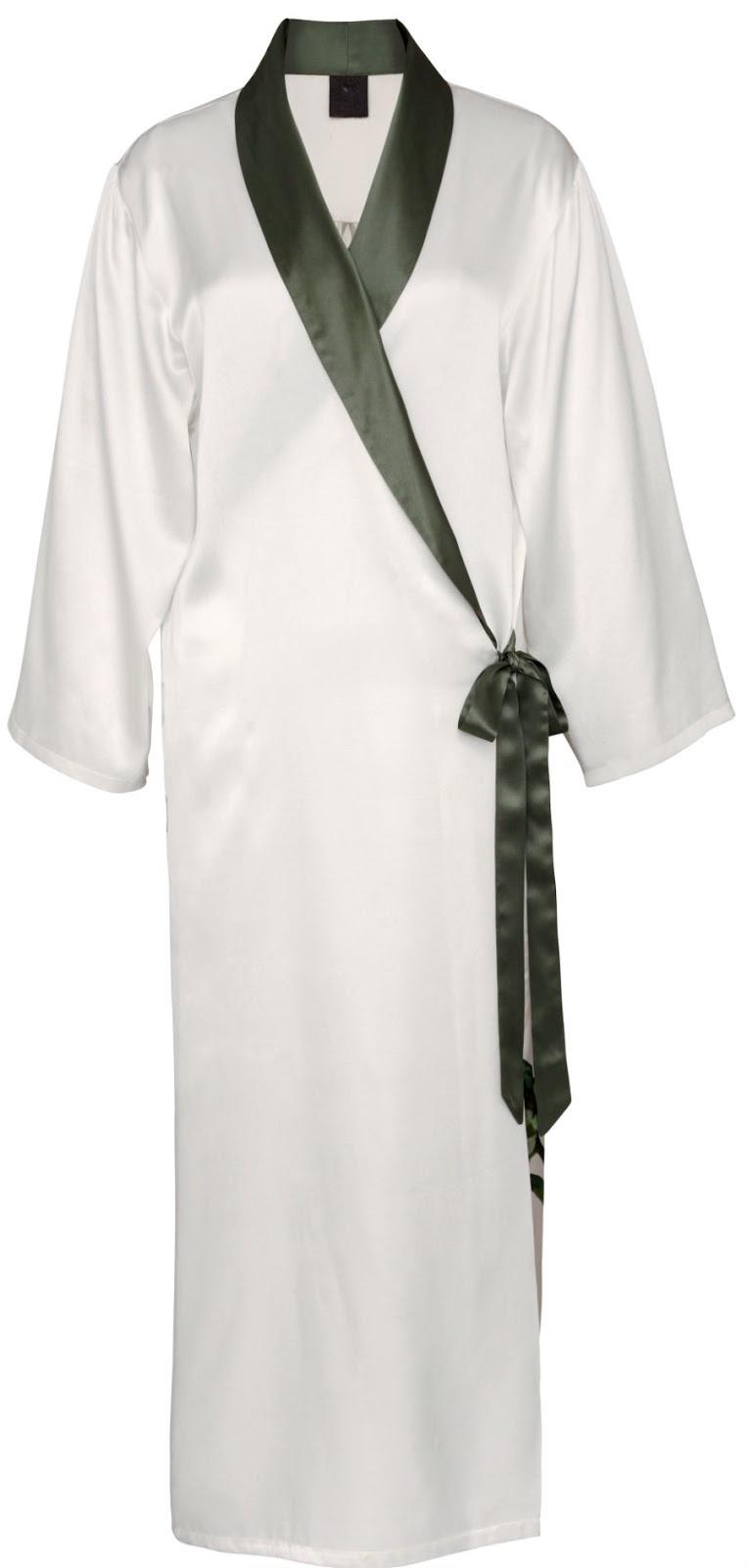 Hovey Design for kumi kookoon silk robe