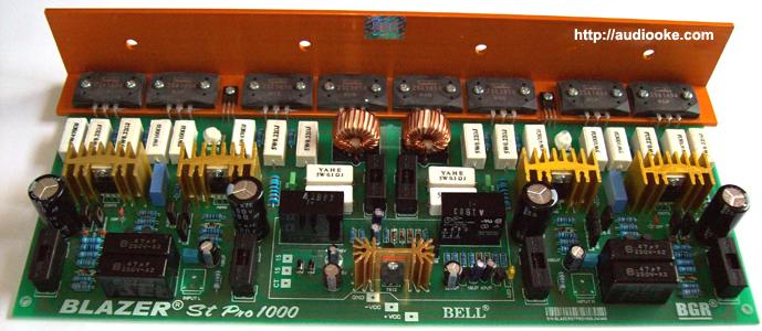 Kit Power Amplifier Blazer St Pro 1000 Watt | WL Elektro