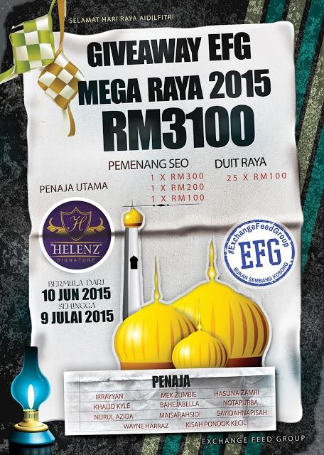 Giveaway EFG Mega Raya