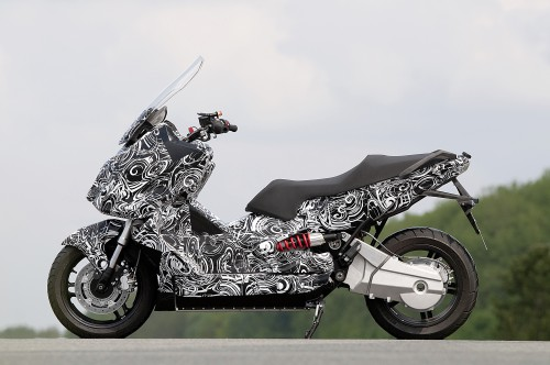 BMW Unveils E-Scooter Concept Image