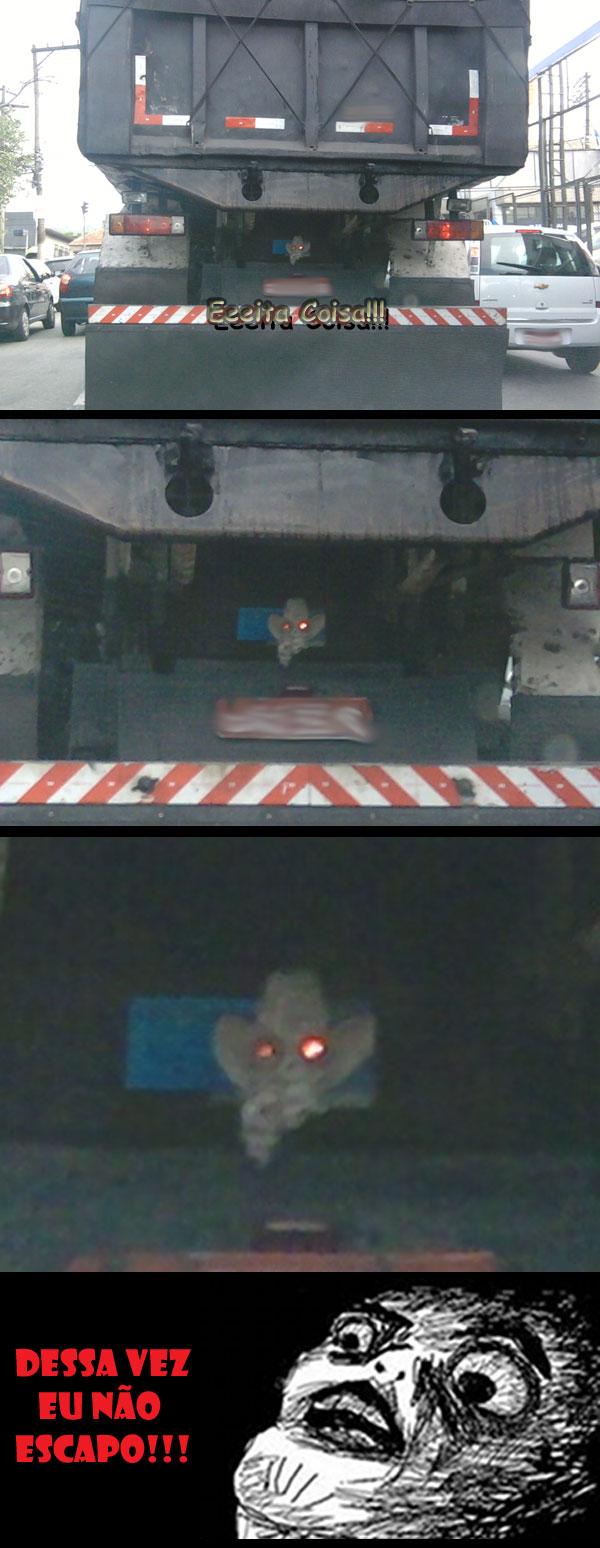 meme, caminhão, sinistro, eeeita coisa