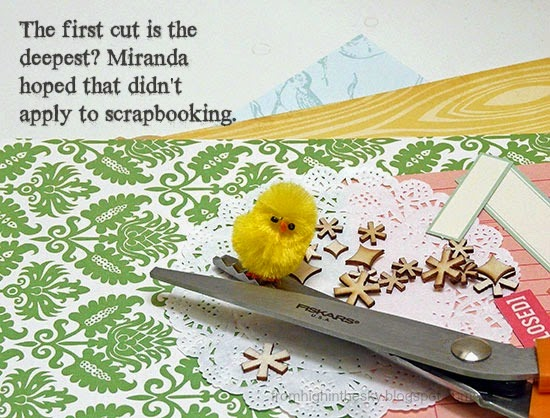 from High in the Sky : chicks scrapbook