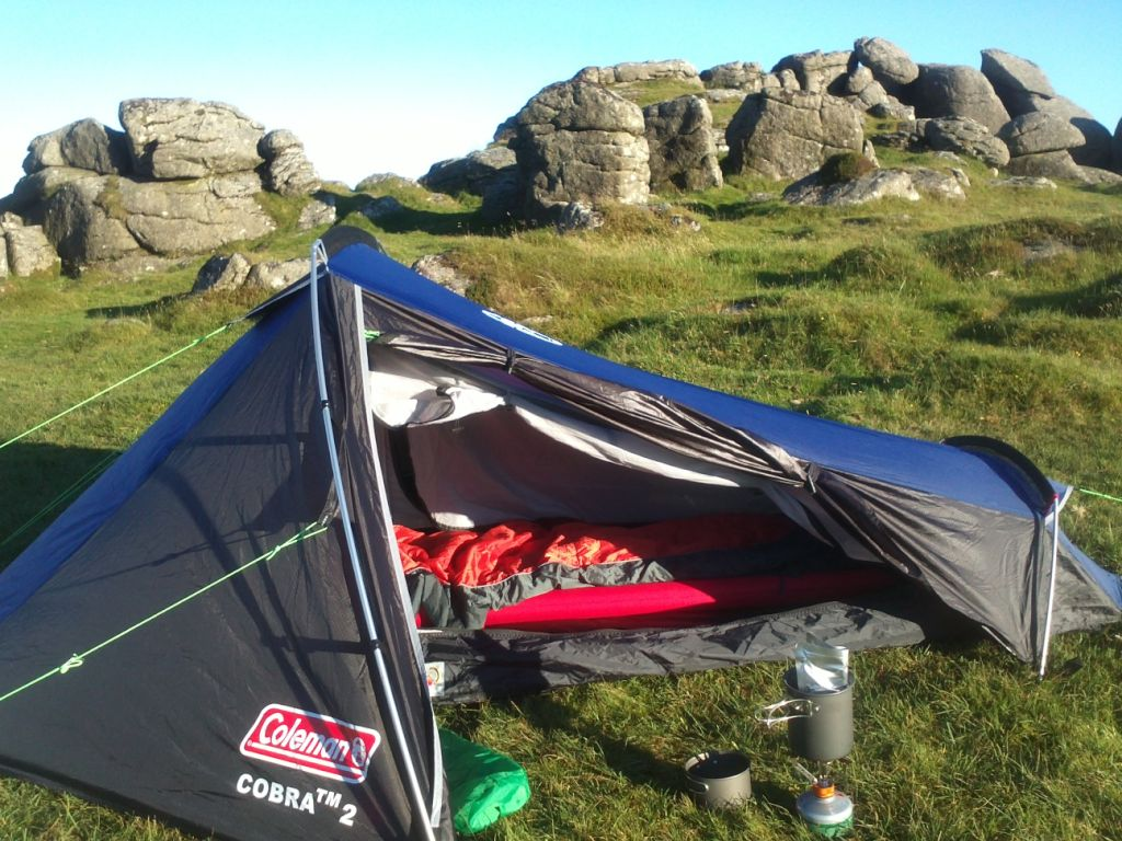 My one. Reassuringly similar to the publicity shot. & Gear Review : Coleman Cobra 2 tent.