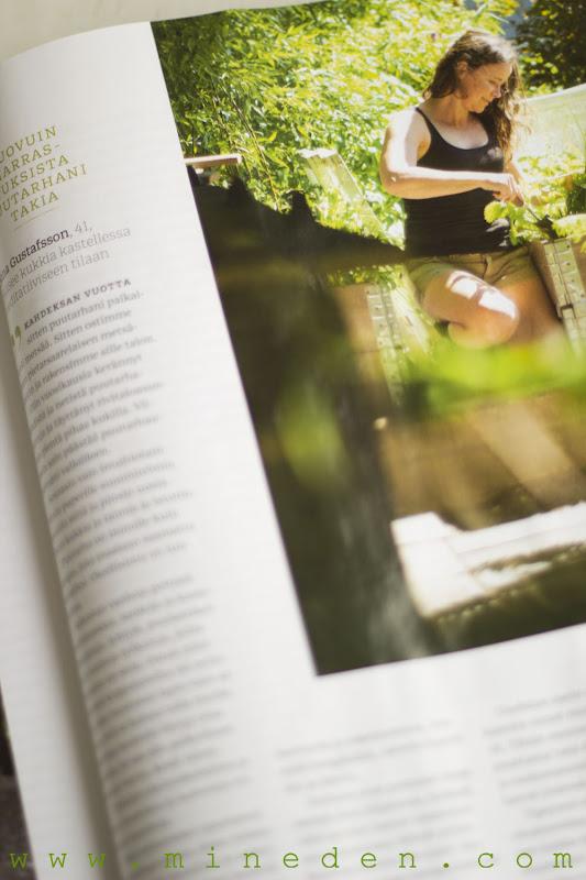 Artikel i Evita tidningen 06 2013