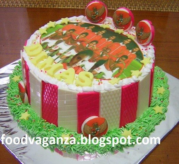 Aylas N Ayra Tim Nasional Birthday Cake