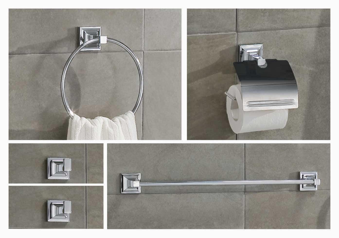 C mo instalar accesorios del ba o ferrelec for Griferias y accesorios para banos