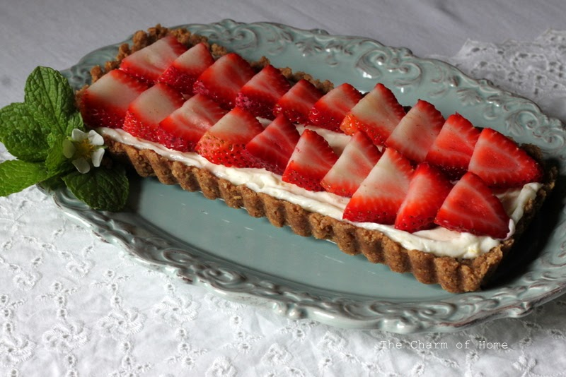 Strawberry Tart: The Charm of Home
