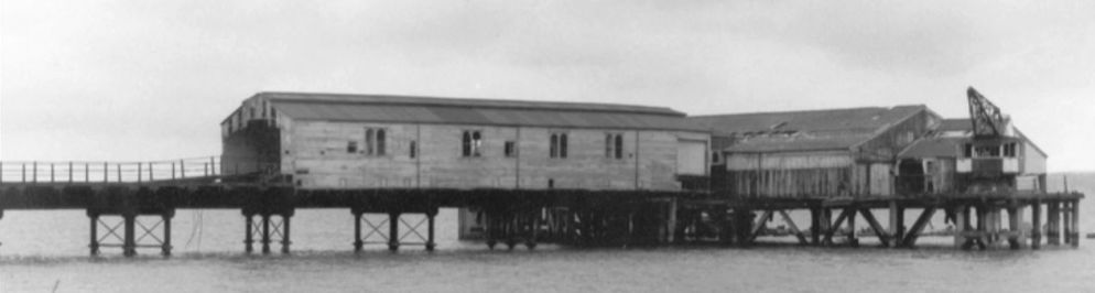 The pier in RN days