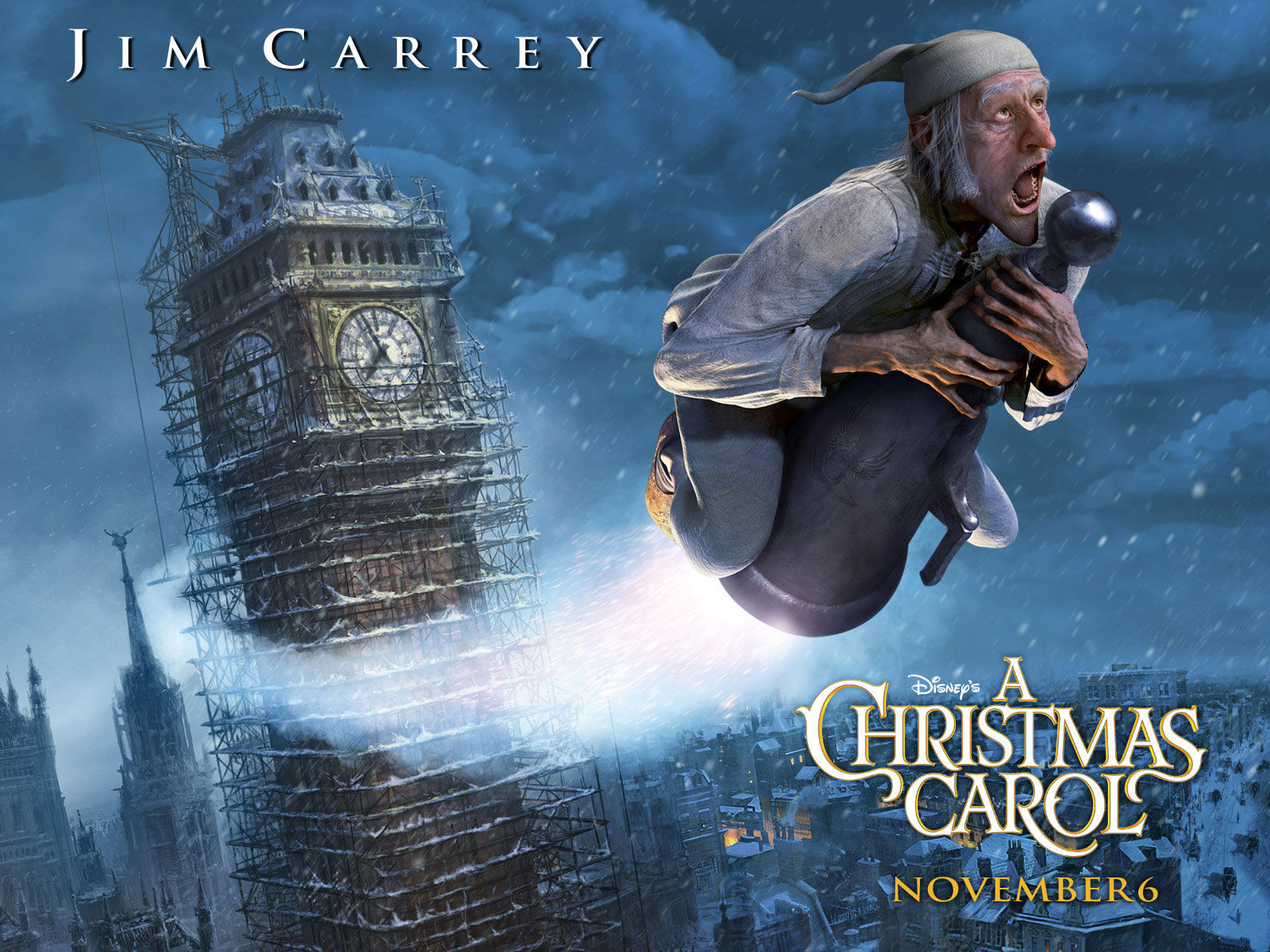Welcome To The Film Review Blogs A Christmas Carol 2009