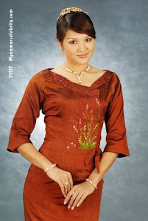 Myanmar Beautiful Model