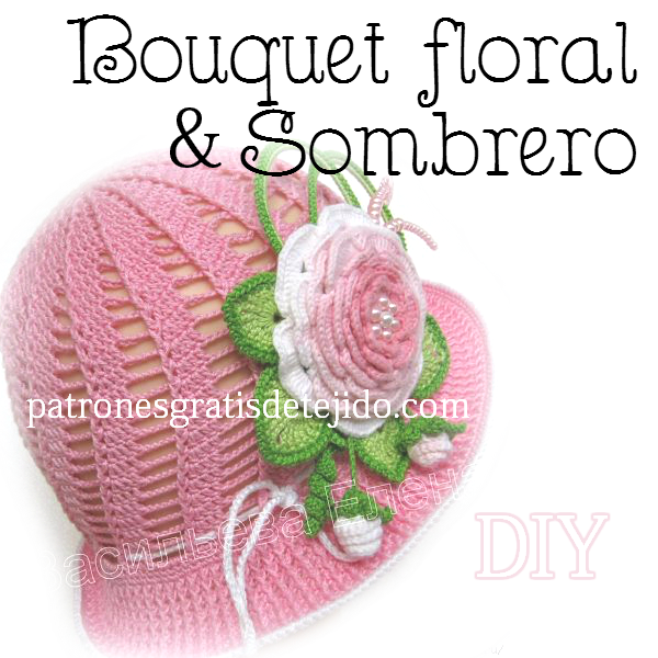 Panama hat crochet for kids