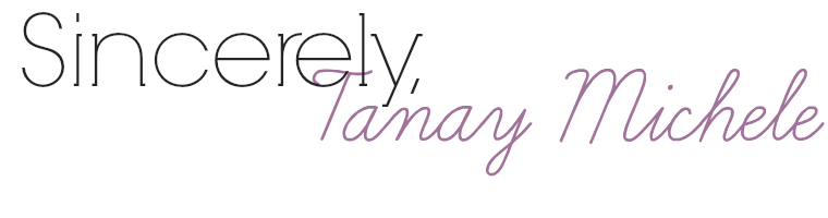 Sincerely, Tanay Michele
