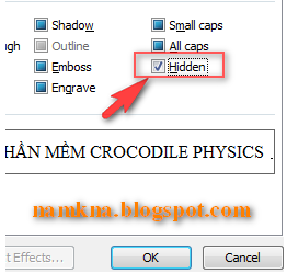 Chống copy, chống print, chống view trong Word 2007 - by: http://namkna.blogspot.com/