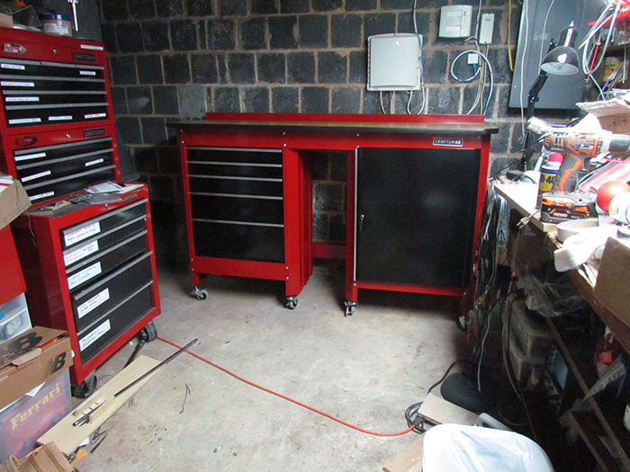 craftsman 8 ft workbench the hippest