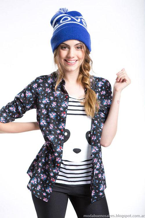 Camisas de moda invierno 2015 Como quieres.