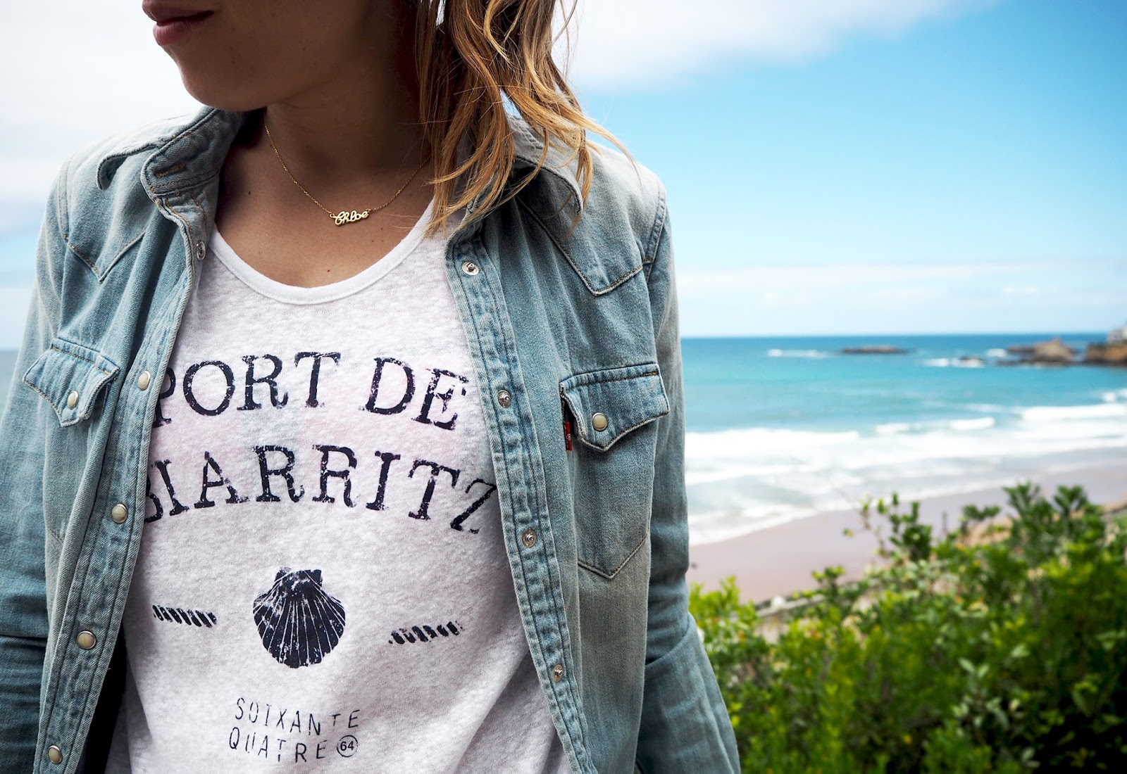 T-shirt 63 Port de Biarritz