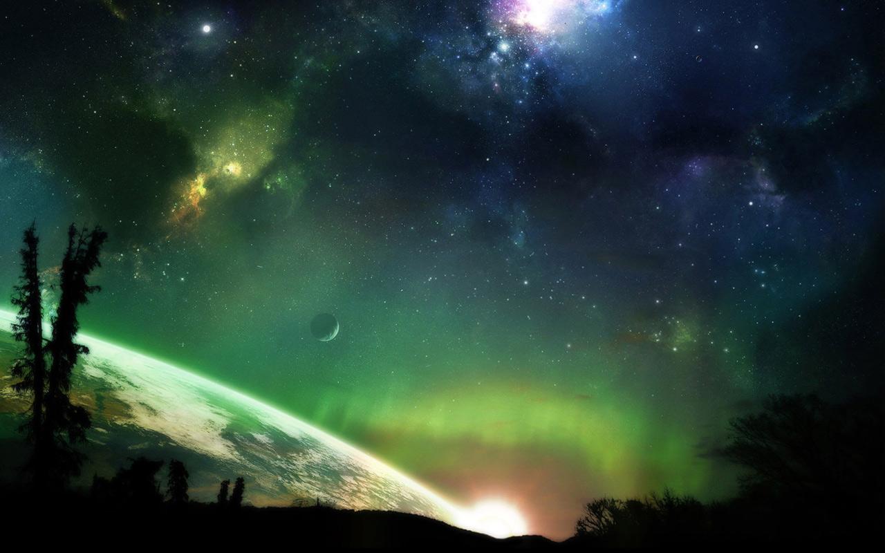 Il y a 2 façons d aborder le cosmos et l infini