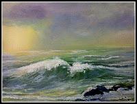 Claudeth - óleo sobre tela  41x33