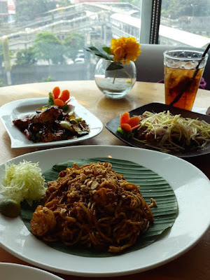 Saturday lunch at Penang Bistro Central Park Jakarta