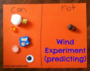 preschool theme, preschool activities, wind activities, image