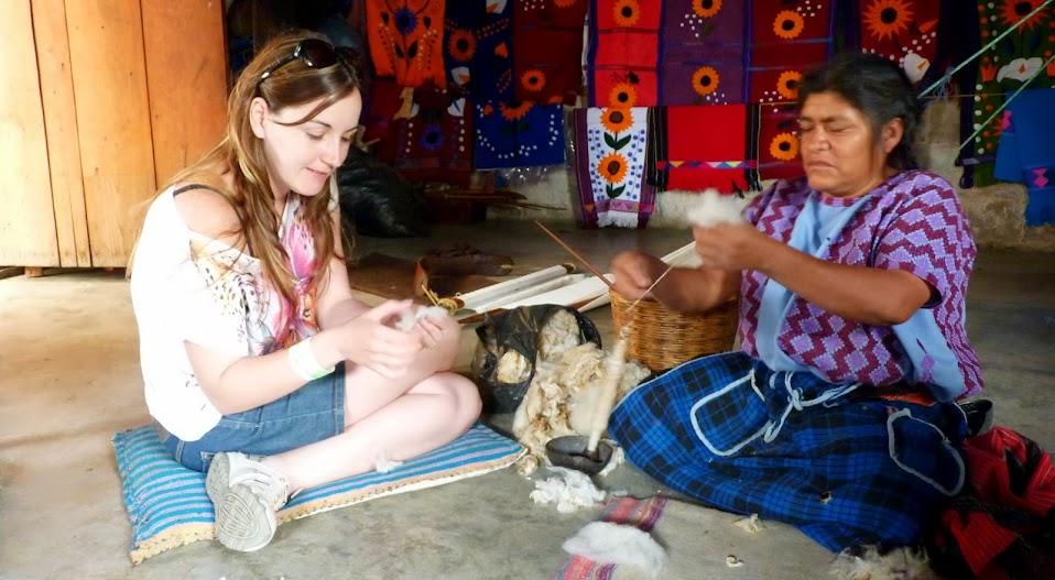 Tejiendo con la comunidad de Zinacantán