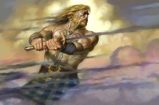 Ancient Irish Celtic Warriors Pictures